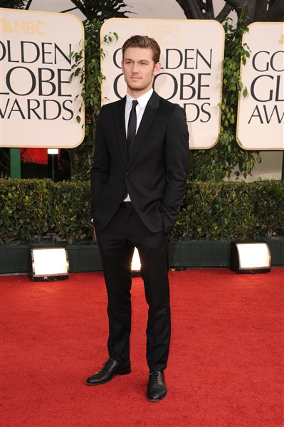 alex pettyfer golden globes. Alex Pettyfer Attends the
